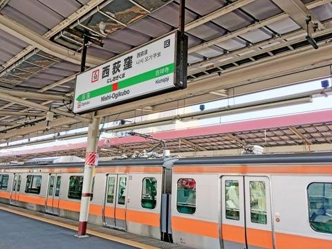 中央線西荻窪駅ホーム