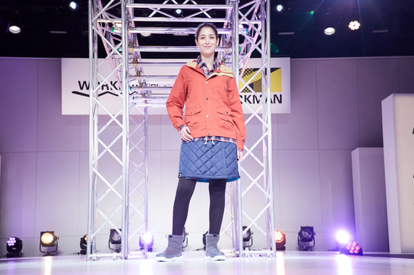 ワークマンのファッションショー