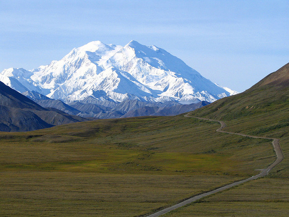 The east side viewed from Denali