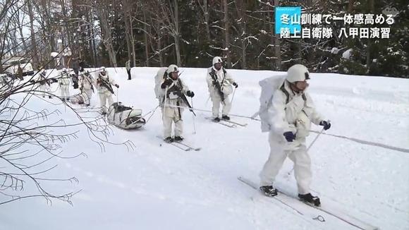 陸上自衛隊 八甲田演習