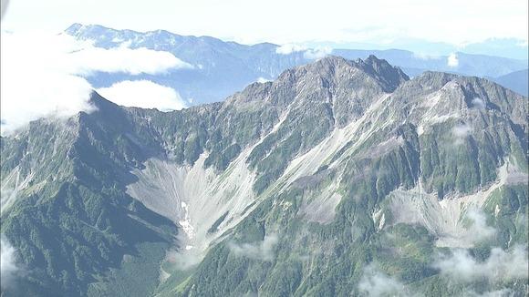 【長野】北アルプスで遭難相次ぎ2人死亡…前穂高岳で52歳女性 白岳で66歳男性 槍ヶ岳ではクライミング中に滑落し2人けが