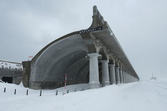 稚内の雪景色