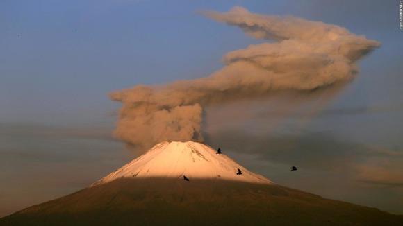 ポポカテペトル山