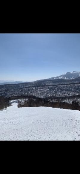 スキー場からの景色