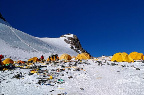 エベレストのキャンプ地
