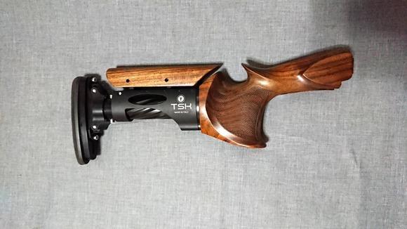 猟銃のグリップ
