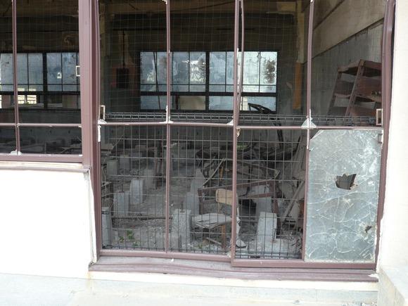 大野木場小学校旧校舎内部  (1)