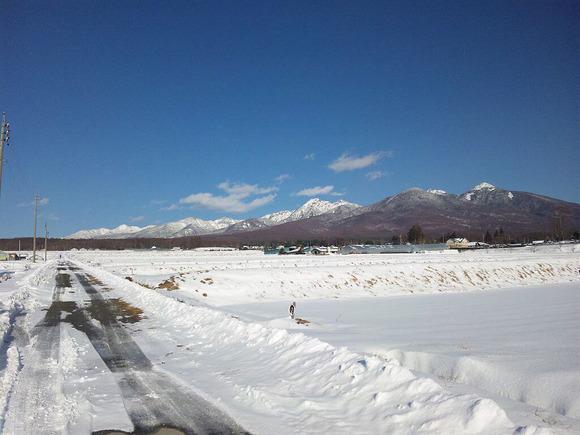 八ヶ岳の冬 (1)