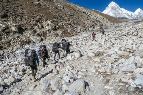 ヒマラヤの登山隊