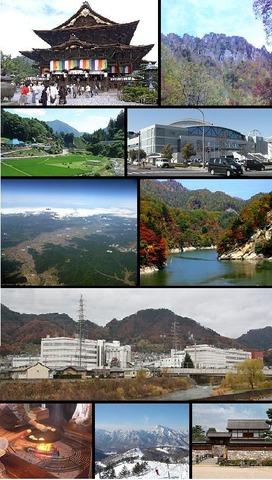 長野市の名所