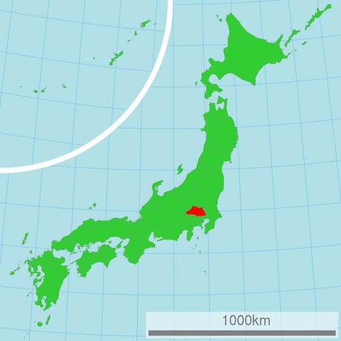 埼玉県の位置