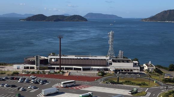 与島パーキングエリア  (1)