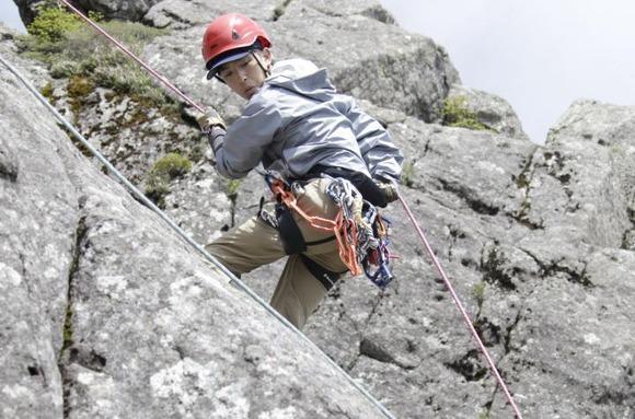 山岳救助訓練