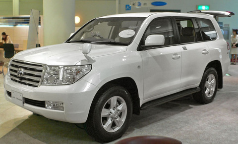 トヨタ・ランドクルーザー200系