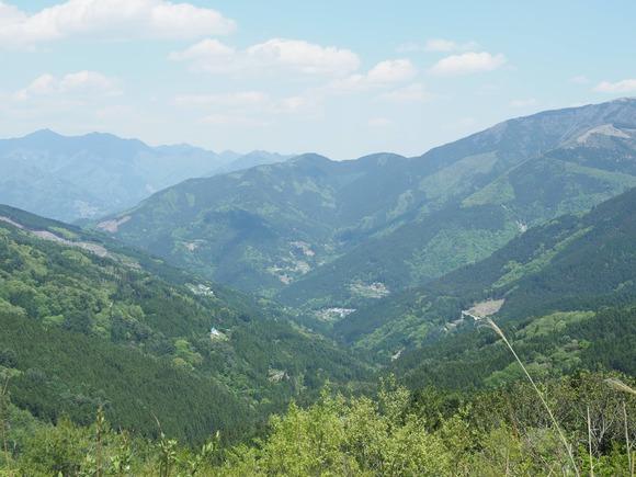 剣山からの景色