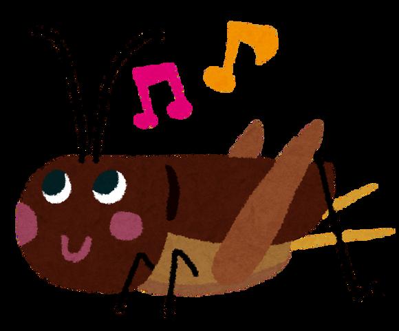 コオロギのイラスト (1)