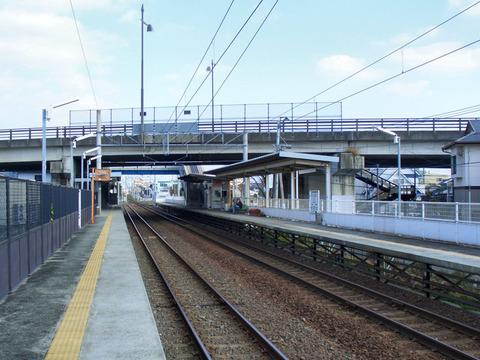 平成駅ホーム