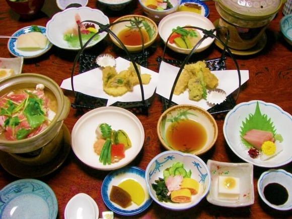 旅館のご飯 (1)