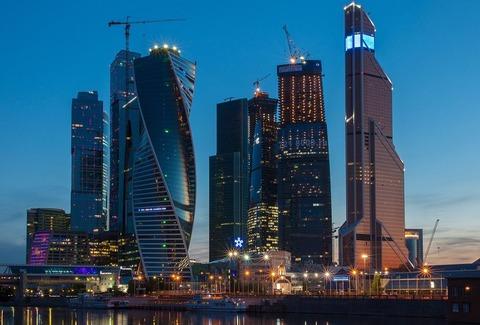 モスクワのビル群
