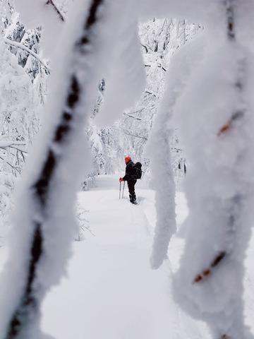 雪山登山者