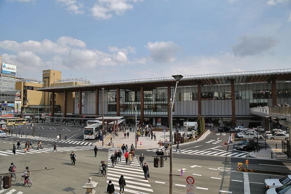 JR長野駅善光寺口
