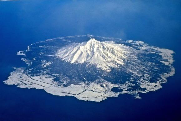 利尻島および利尻岳  (1)