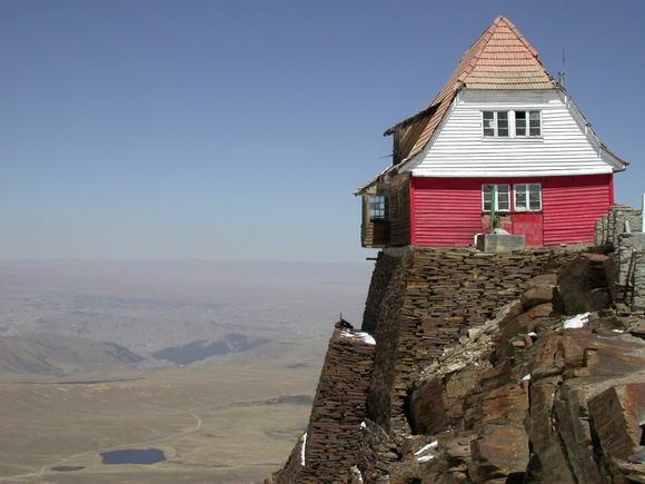 チャカルタヤ山小屋