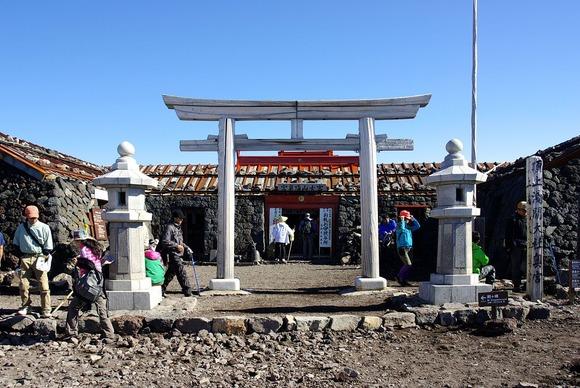 富士山本宮浅間大社奥の宮 (1)