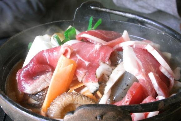 静岡県河津町のぼたん鍋