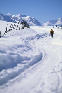 冬の自転車通勤