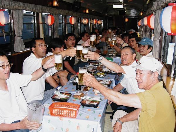 ビール列車その4