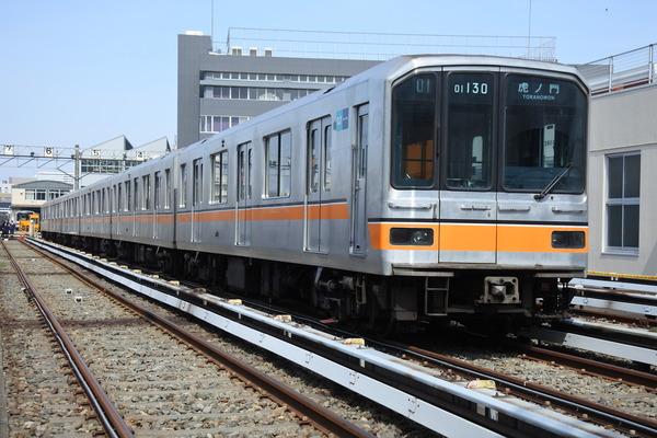 ①銀座線01系車両