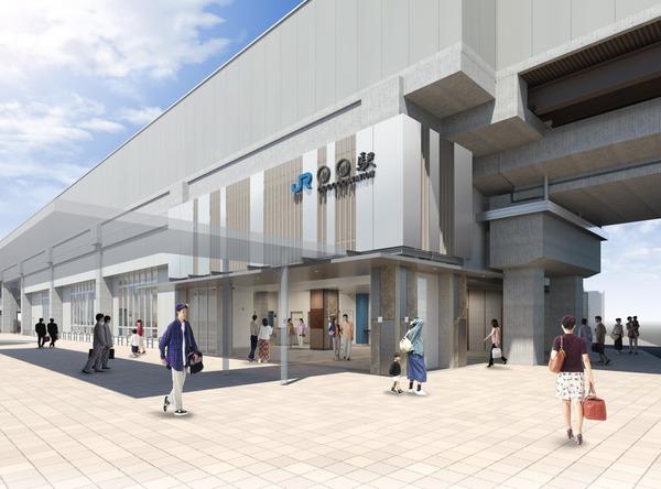 160805_おおさか東線JR長瀬・新加美間新駅イメージパース