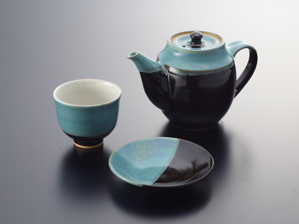 05_因州中井窯の茶器