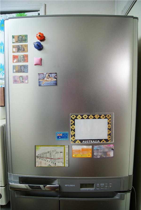 マグネット冷蔵庫写真ぼかし