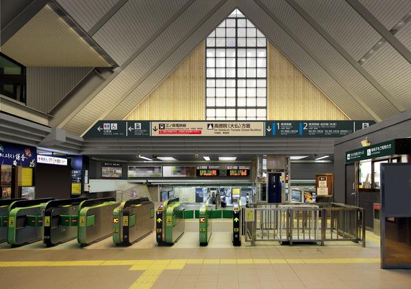 鎌倉駅東口改良イメージ
