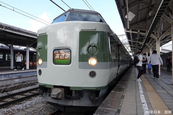 先頭車両@小諸駅-2