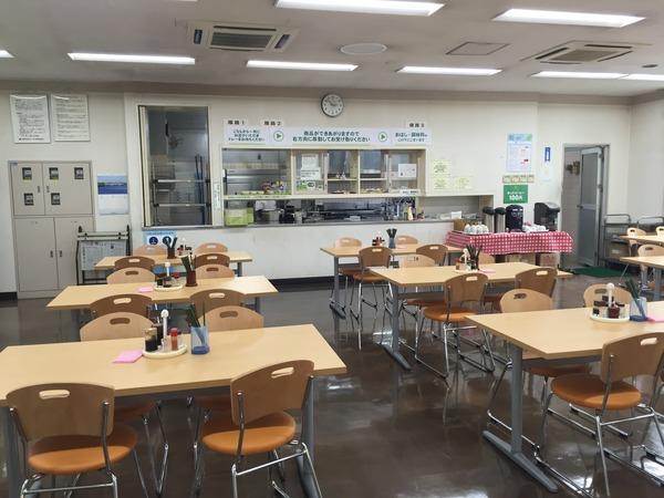 東京モノレール社食②
