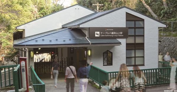 ②ー⑥ケーブル八幡宮山上駅
