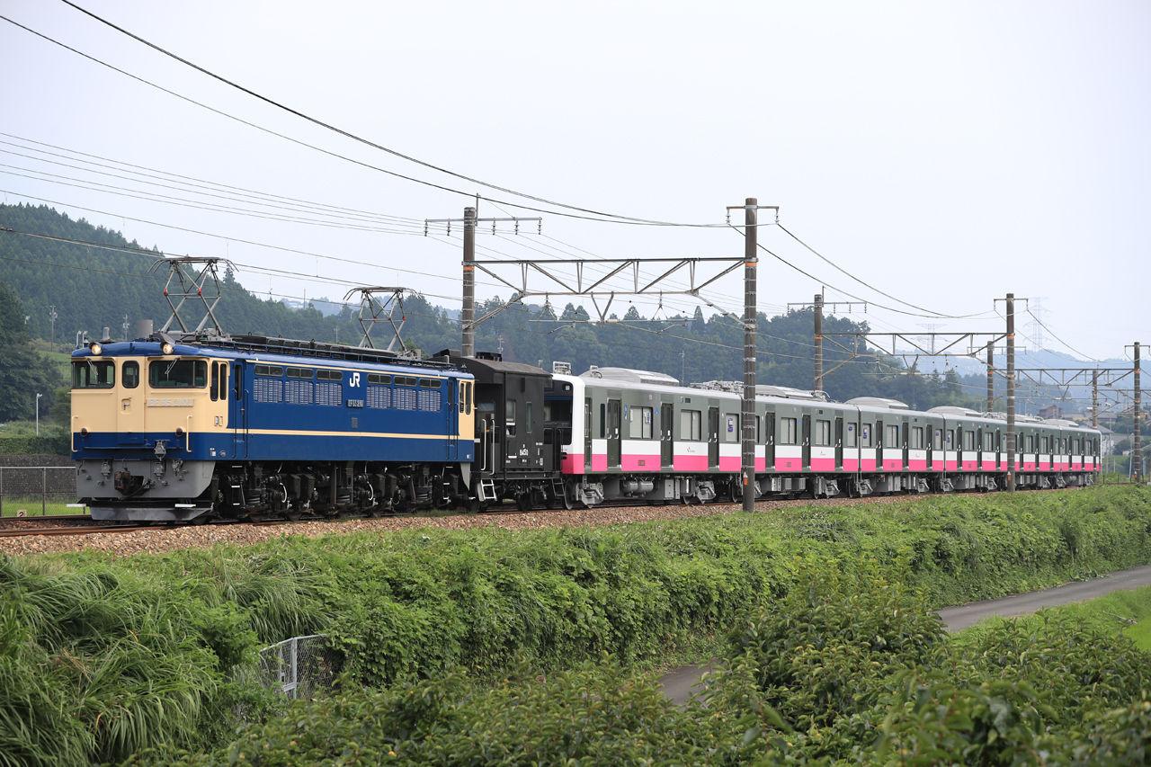 2018 8 4運転 新京成n800形甲種輸送 trainphotonews