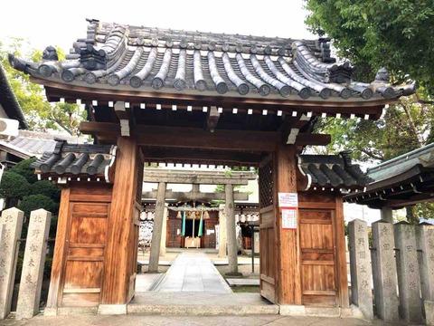 GoogleのCMでも紹介された一風変わったおみくじが引ける神社 松原六社巡りの1つ・布忍(ぬのせ)神社