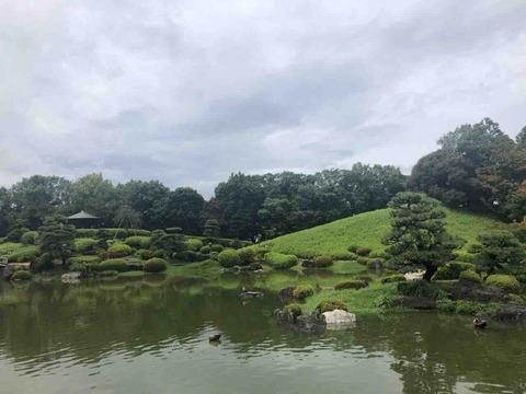 堺市大仙公園内・茶の湯を楽しめる日本庭園