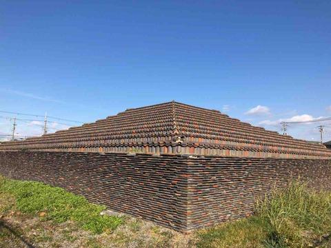 堺市出身の僧侶・行基が建てた仏塔『土塔』はピラミッド状の不思議な塔だった