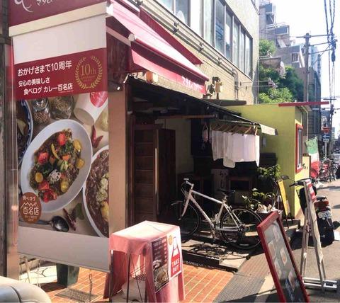 大阪カレー百名店に選ばれたマダム・カリーのカレーが美味しかった