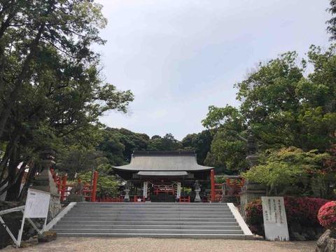 奈良県三郷町にある風の神様・龍田大社