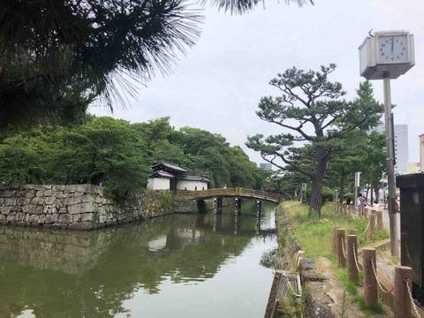 和歌山城天守閣に登った
