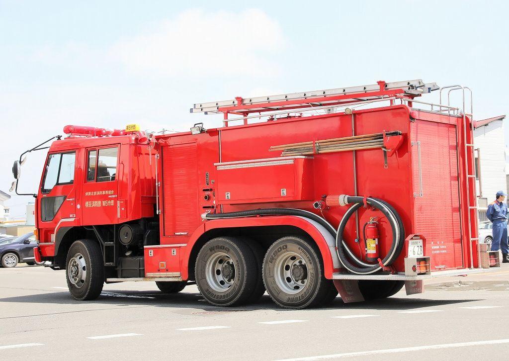trans5885のblog  標茶消防団 小型動力ポンプ付水槽車(第5分団車)コメント