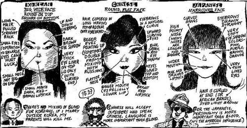 Japanese-Chinese-Korean-Girls