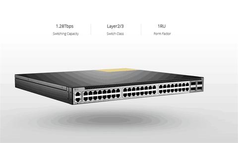 FS S5850-48T4Q 10GBASE-T switch