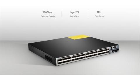 FS S5800-48F4S 10Gb SFP Switch
